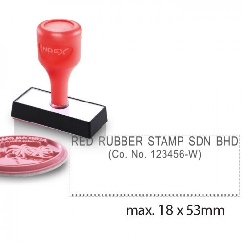 Index Stamp RS1853