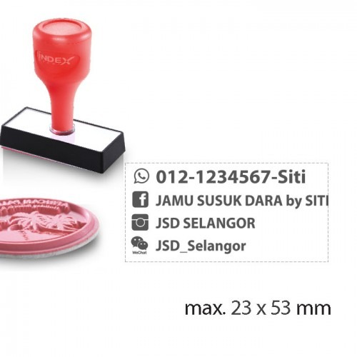 Index Stamp RS2353