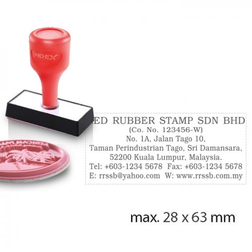 Index Stamp RS2863